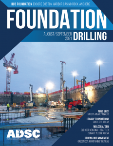 2021 Foundation Drilling AugSept Cover