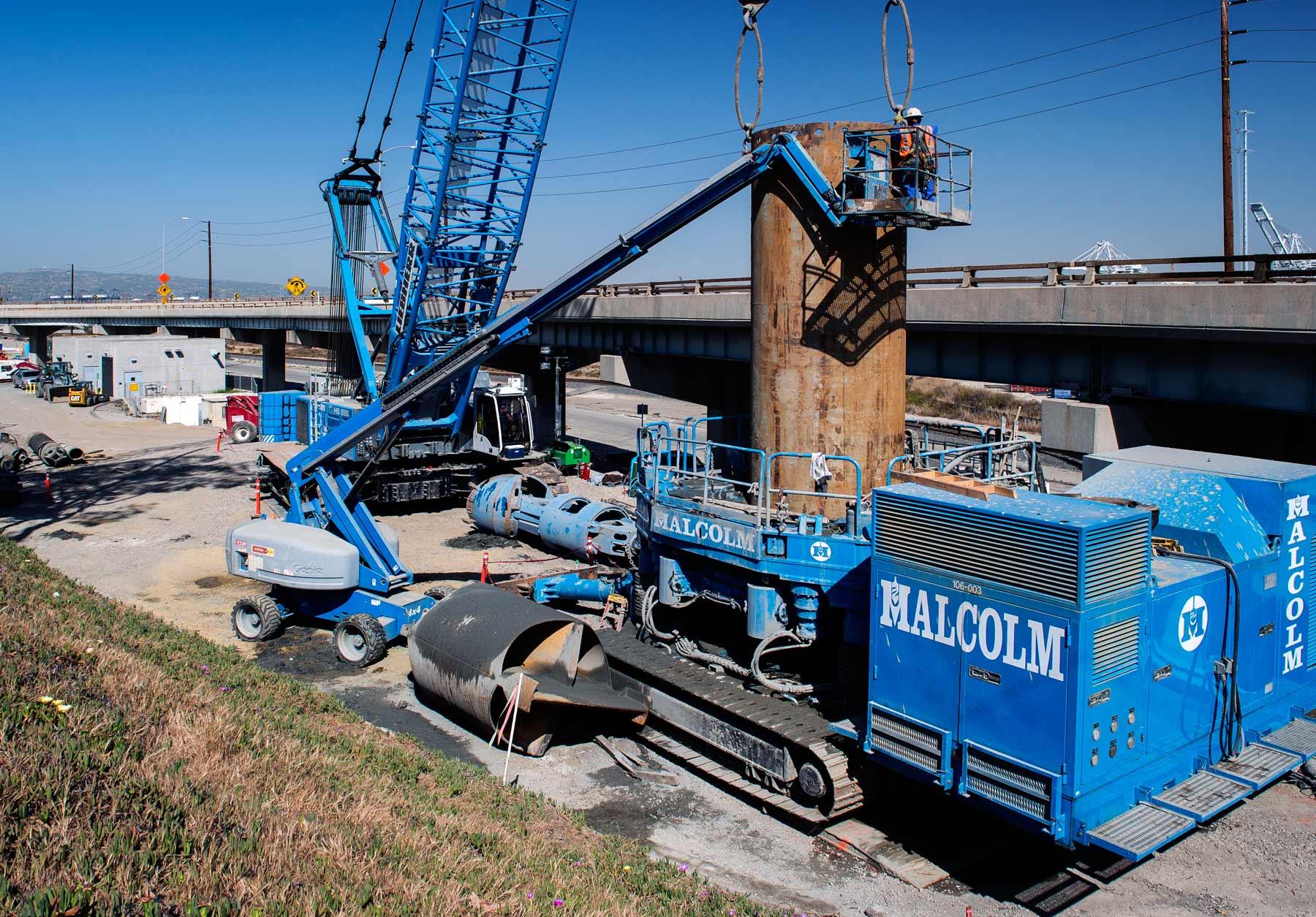Oil Field Abatement For The New Gerald Desmond Bridge