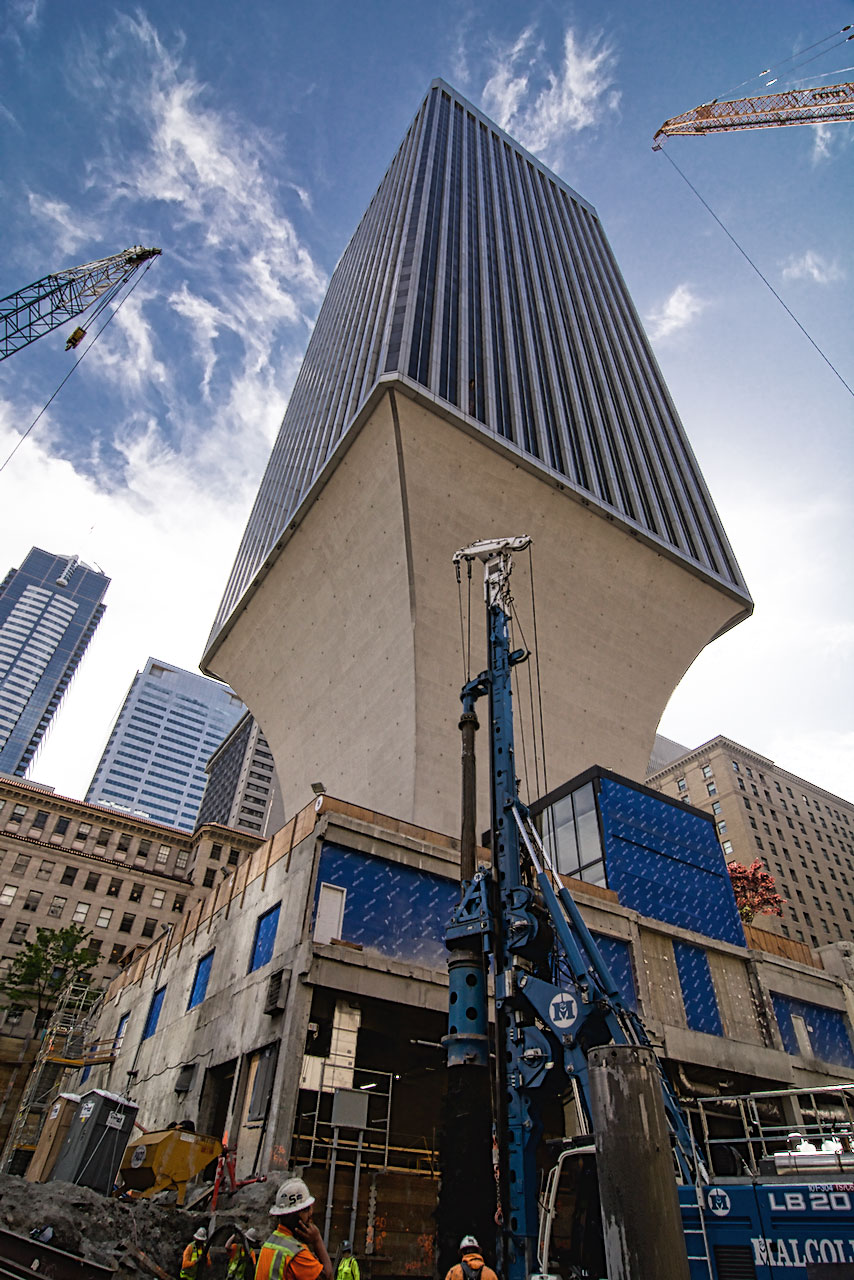 Second Use Seattle >> Rainier Square Tower – Malcolm Drilling