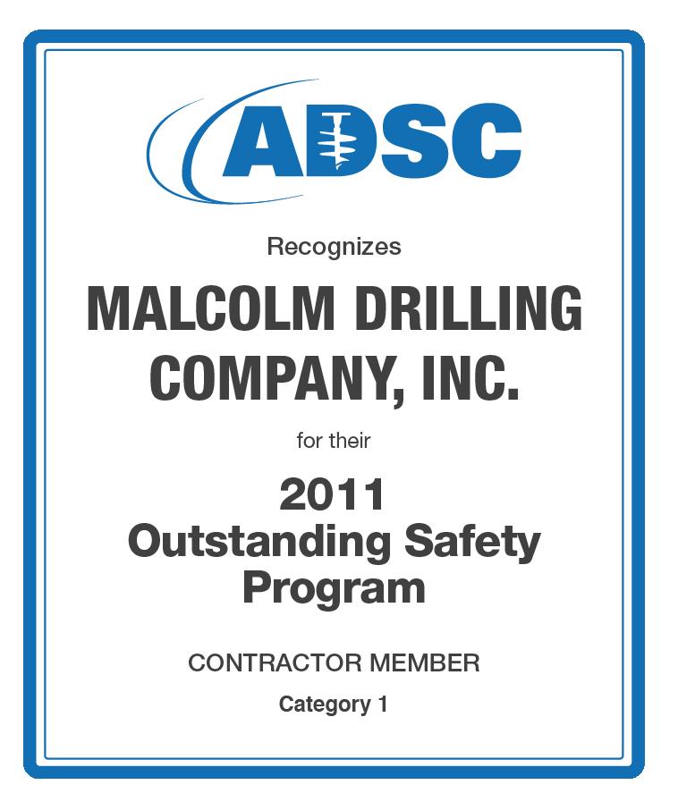 adsc_malcolm-safety-award_2011
