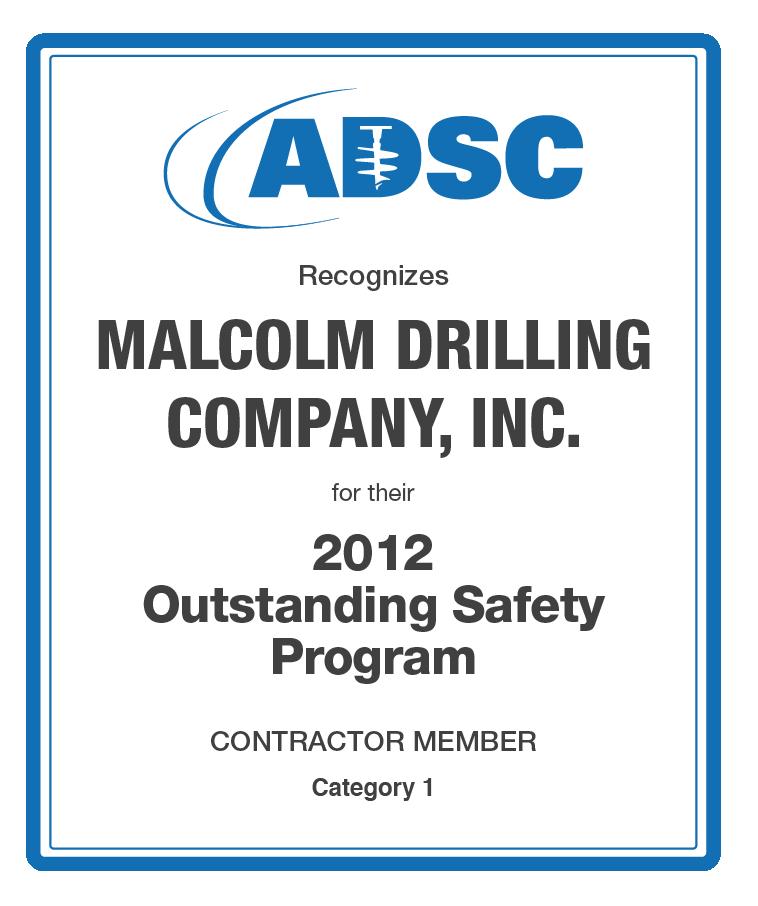 adsc_malcolm-safety-award_2012